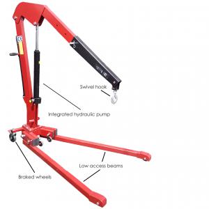 1T Low Access Crane