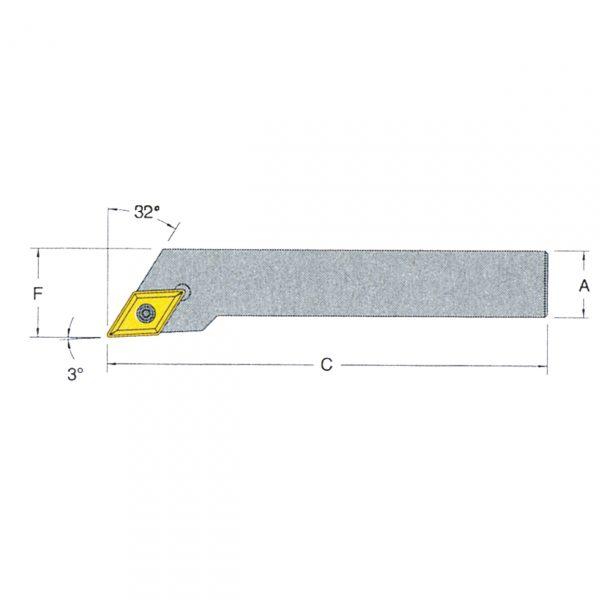 Indexable Lathe Tool